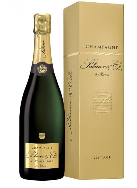 Palmer & Co Vintage 2008 2008 Bottle 75cl Box