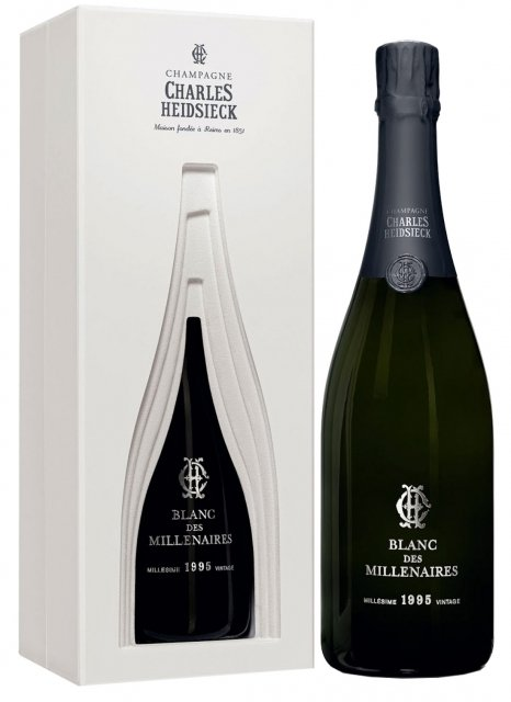 Charles Heidsieck Blanc des Millénaires 1995 1995 Bottiglia 75 cl Cofanetto