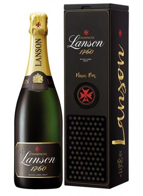 Lanson Black Label (Music Box) Non millésimé Bouteille 75CL Etui