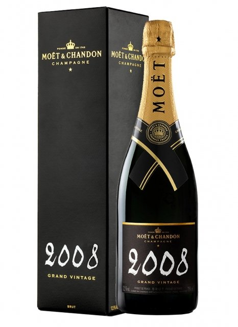 Moët & Chandon Grand Vintage 2008 2008 Bouteille 75CL Etui