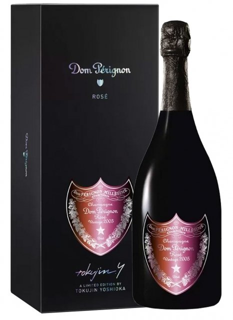 Dom Pérignon Vintage Rosé 2005 éd. Tokujin Yoshioka 2005 Bouteille 75CL Coffret