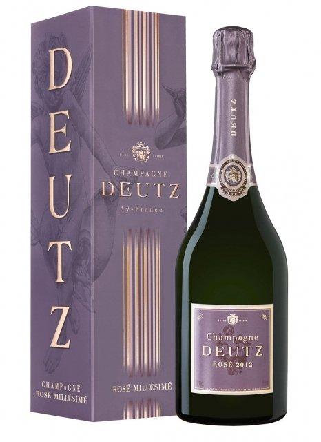 Deutz Brut Rosé 2012 2012 Bottiglia 75 cl Custodia