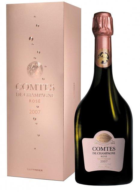 Taittinger Comtes de Champagne Rosé 2007 2007 Bouteille 75CL Coffret