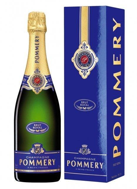 Pommery Brut Royal Non millésimé Bouteille 75CL Etui