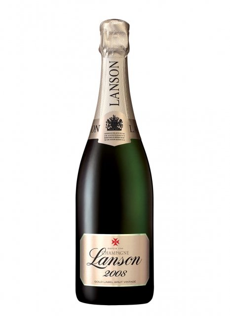 Champagne lanson millesime 2008
