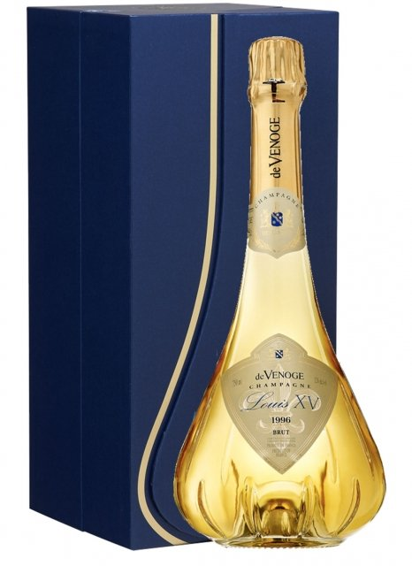 De Venoge Cuvée Louis XV 1996 1996 Bottiglia 75 cl Cofanetto