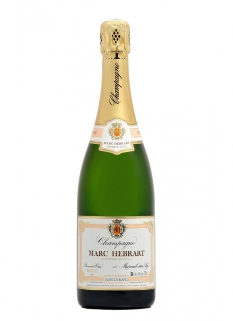 Marc Hébrart Blanc de Blancs 1er Cru Non vintage Bottle 75cl Nu