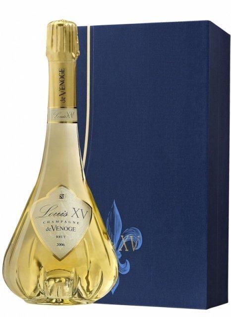 Champagne De Venoge - Louis XV 2006 + 2 flûtes - Bottle 75cl   Plus ...