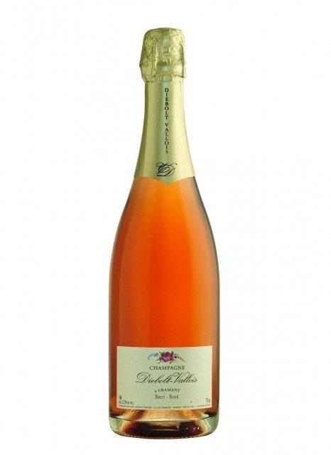 Diebolt-Vallois Brut Rosé Non millésimé Bouteille 75CL Nu