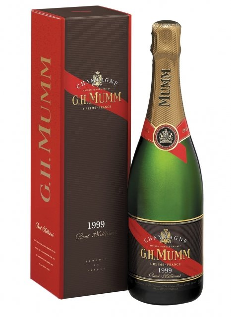 Champagne mumm millesime