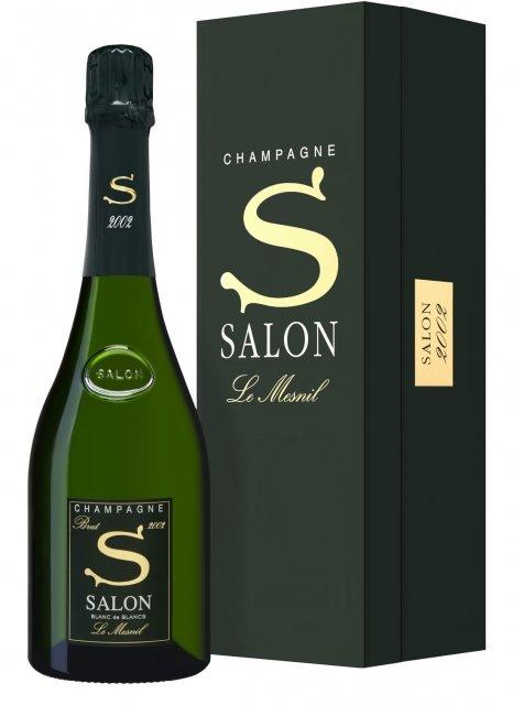 champagne salon salon 2002 bouteille 75cl plus de bulles