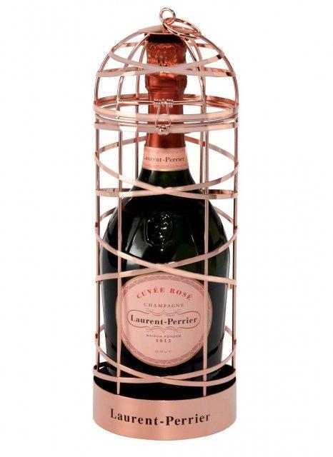 Laurent-Perrier Cuvée Rosé édition Cage Ruban Non millésimé Bouteille 75CL Coffret