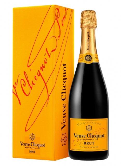 Veuve Clicquot Carte Jaune Non millésimé Bouteille 75CL Etui
