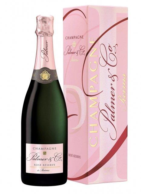 Palmer & Co Brut Rosé Non millésimé Bouteille 75CL Etui