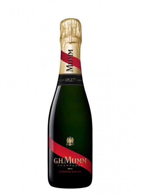 Mumm Cordon Rouge Non millésimé Demi-bouteille 37,5CL Nu