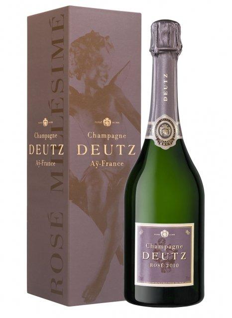 Deutz Brut Rosé 2010 2010 Bottle 75cl Box