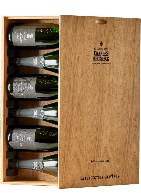 Charles Heidsieck La Collection Crayères  Bouteille 75CL Caisse bois