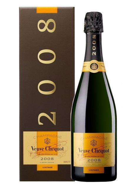 Veuve Clicquot Vintage 2008 2008 Bottiglia 75 cl Custodia
