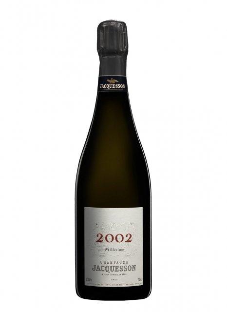 Champagne jacquesson millesime 2002