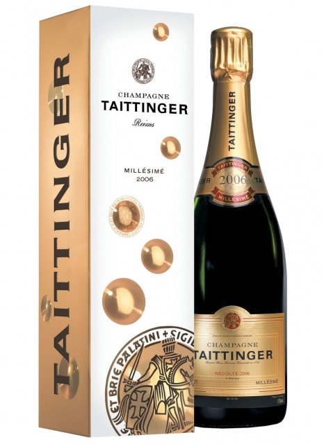 Champagne taittinger millesime 2006