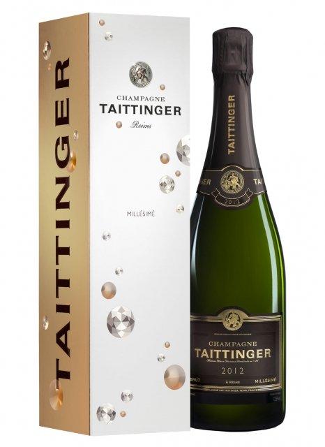 Taittinger Millésime 2012 2012 Bottle 75cl Box