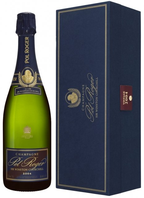 Pol Roger Sir Winston Churchill 2004 2004 Bouteille 75CL Coffret