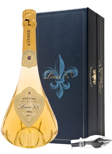 De Venoge Cuvée Louis XV 1995 1995 Bottiglia 75 cl Cofanetto