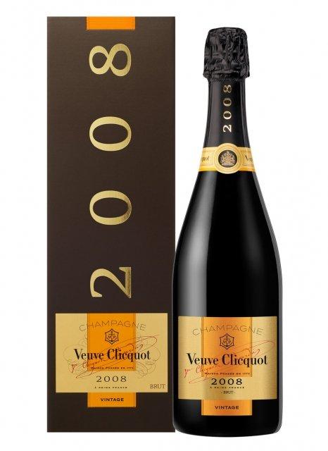 Veuve Clicquot Vintage 2008 2008 Bottle 75cl Box