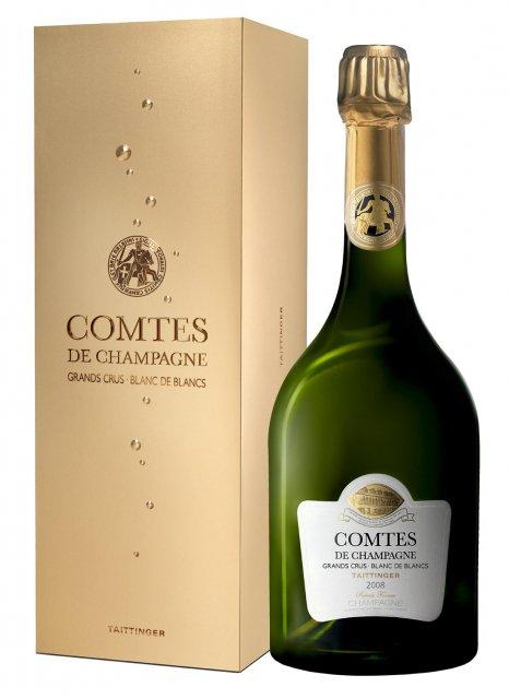 Taittinger Comtes de Champagne 2008 2008 Bouteille 75CL Coffret