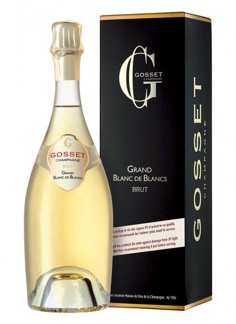 Gosset Grand Blanc de Blancs Non millésimé Bouteille 75CL Etui