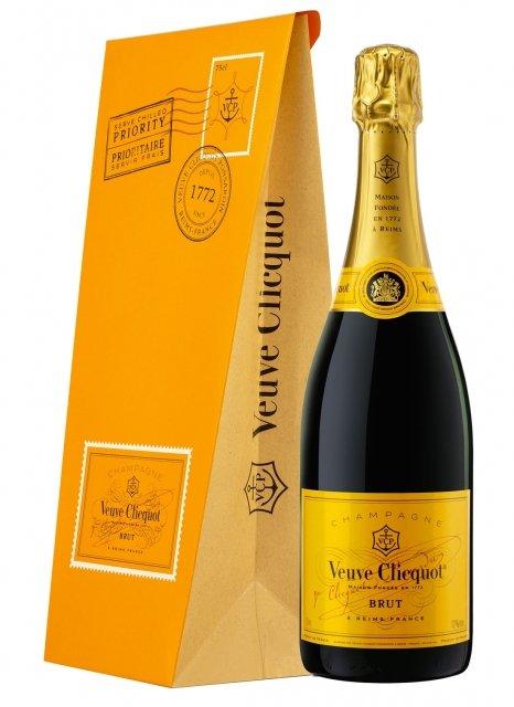Veuve Clicquot Ice Letter Non vintage Bottle 75cl Presentation pack