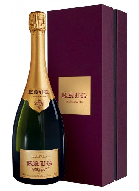 Krug La Grande Cuvée Non vintage Bottle 75cl Presentation pack