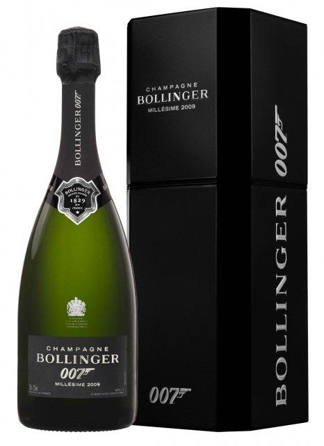 Champagne bollinger james bond 007 spectre 2009 bottle - Bollinger maison fondee en 1829 ...