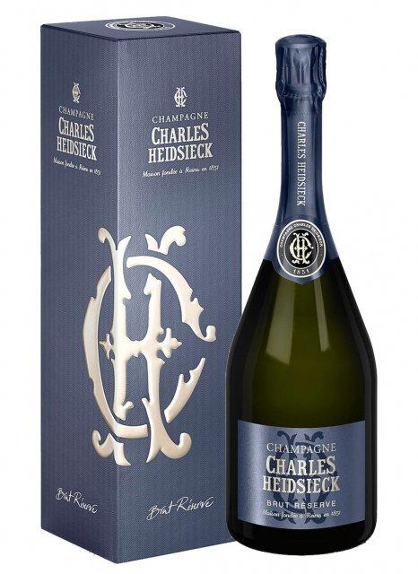 Charles Heidsieck Brut Réserve Non vintage Bottle 75cl Box