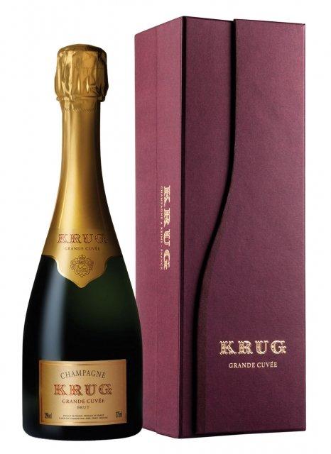 Krug La Grande Cuvée Non millésimé Demi-bouteille 37,5CL Coffret