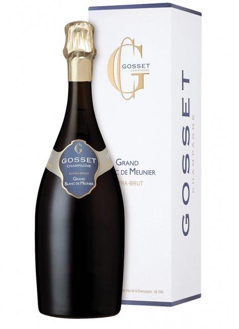Gosset Grand Blanc de Meuniers Senza annata Bottiglia 75 cl Astuccio