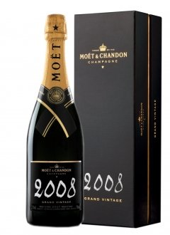 Moët & Chandon Grand Vintage 2008 2008 Bouteille 75CL Coffret