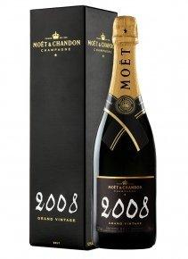Moët & Chandon Grand Vintage 2008 2008 Bottiglia 75 cl Custodia