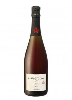Fabrice Pouillon Brut Rosé 1er Cru Non millésimé Bouteille 75CL Nu