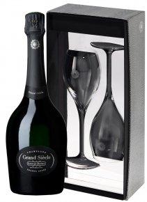 Laurent-Perrier Grand Siècle Non millésimé Bouteille 75CL bouteille + flûtes