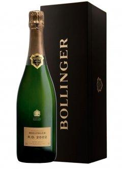 Bollinger R.D. 2002 2002 Bouteille 75CL Caisse bois