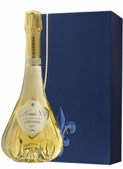 De Venoge Louis XV 2006 + 2 flûtes 2006 Bouteille 75CL bouteille + flûtes