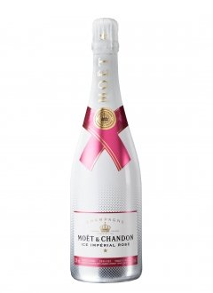 Moët & Chandon Ice Impérial Rosé Non millésimé Bouteille 75CL Nu