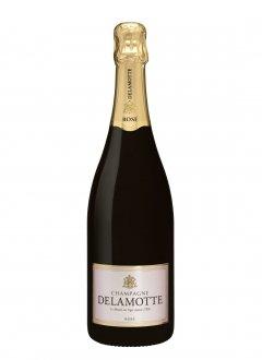 Delamotte Brut Rosé Non millésimé Bouteille 75CL Nu