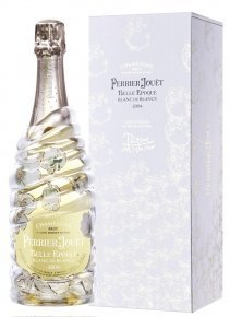 Perrier-Jouët Belle Epoque Blanc de Blancs 2004 par Ritsue Mishima 2004 Bottiglia 75 cl Cofanetto