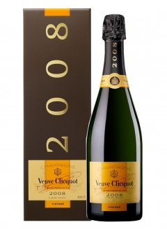 Veuve Clicquot Vintage 2008 2008 Bottle 75cl Box