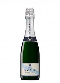 De Venoge Cordon Bleu Non millésimé Demi-bouteille 37,5CL Nu