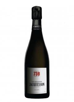 Jacquesson Cuvée 738 Non millésimé Bouteille 75CL Nu