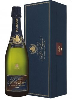 Pol Roger Sir Winston Churchill 2002 2002 Bouteille 75CL Coffret