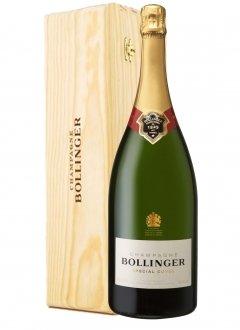 Bollinger Special Cuvée Non millésimé Jéroboam 300cl Caisse bois